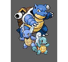Squirtle Evolutions Photographic Print