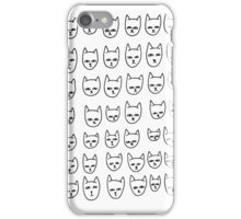 all about cats iPhone Case/Skin