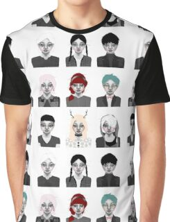 inkioh : the POP Collection 1-9 Graphic T-Shirt