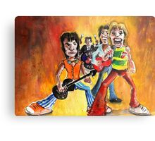 The Rolling Stones In Spain Metal Print