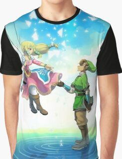 Love Link & Zelda Graphic T-Shirt
