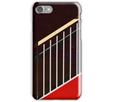 Stairway in Red iPhone Case/Skin