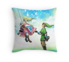 Love Link & Zelda Throw Pillow