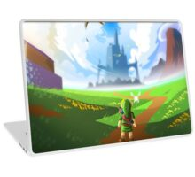 Zelda World Laptop Skin