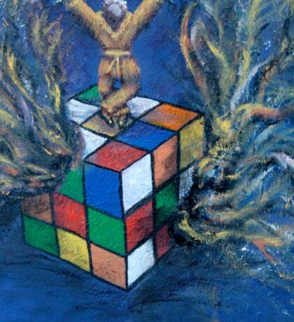 Monkey Puzzle Sticker