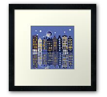 A Special night in Amsterdam Framed Print