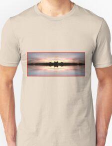 Sunset 724 Fractal A Unisex T-Shirt