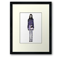 Mary Katrantzou AW16  Framed Print