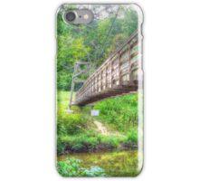 Under The Suspended Bridge iPhone Case/Skin