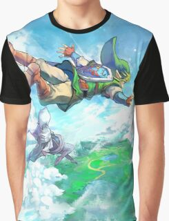 Link Fly Heaven Graphic T-Shirt