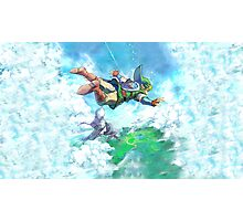 Link Fly Heaven Photographic Print