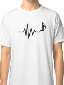 Frequency note music Classic T-Shirt