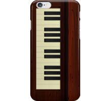 Vintage Wood Piano iPhone Case/Skin