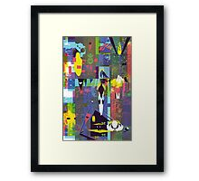 empty set Framed Print