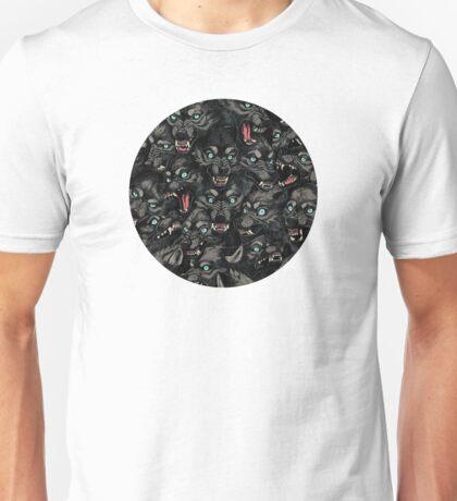 Wolf Pack Pattern Unisex T-Shirt