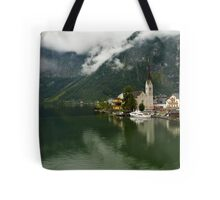 Hallstatt is the most picturesque village of Austria Tote Bag