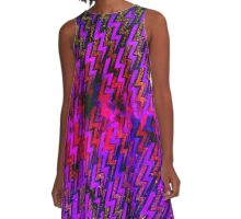 electric storm A-Line Dress