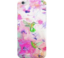 Humming birds iPhone Case/Skin