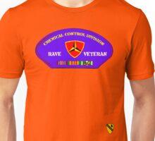 Rave Veteran - Chemical Control Division Unisex T-Shirt
