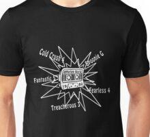 Cold Crush, Treacherous 3 - Old School Hip Hop cassette[wht] Unisex T-Shirt