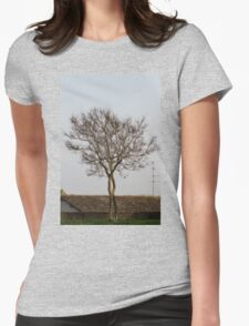 trees in spring Womens Fitted T-Shirt