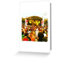 Love saves the day Greeting Card