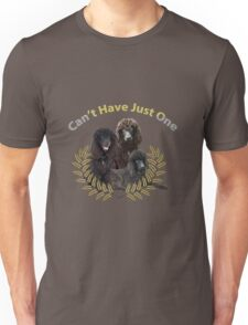 Irish Water Spaniel Can't Have Just One Unisex T-Shirt