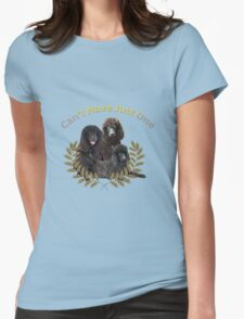 Irish Water Spaniel Can't Have Just One Womens Fitted T-Shirt