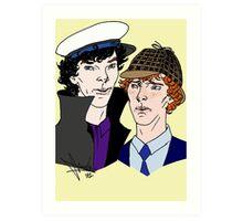 Hat-Tricks Art Print
