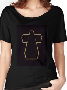 Justice Cross Women's Relaxed Fit T-Shirt