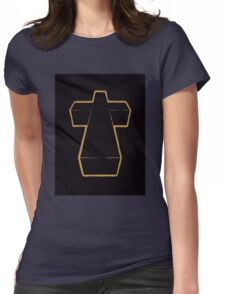 Justice Cross Womens Fitted T-Shirt