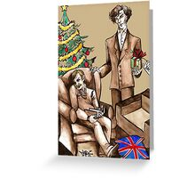 Christmas at 221B Baker Street - Surprise! Greeting Card