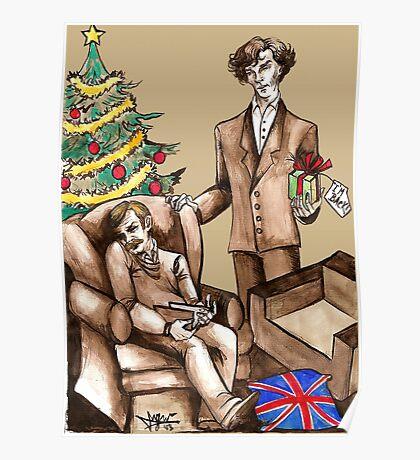 Christmas at 221B Baker Street - Surprise! Poster