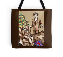Christmas at 221B Baker Street - Surprise! Tote Bag