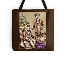 Christmas at 221B Baker Street - Surprise! Tote Bag