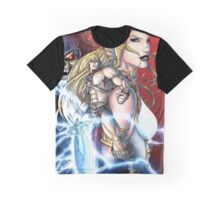 He-Man & Sorceress Graphic T-Shirt