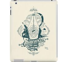 Calligraphic iPad Case/Skin