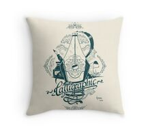 Calligraphic Throw Pillow