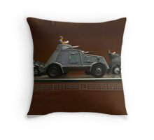Spanish military models Throw Pillow