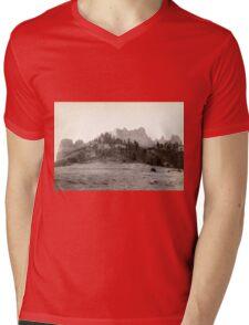 Crow Butte - John Grabill - 1891 Mens V-Neck T-Shirt
