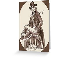 Sherlock through the Ages - 18th Century Greeting Card