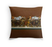 Spanish military models 2 Throw Pillow