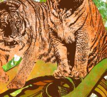 Tiger Safari Sticker