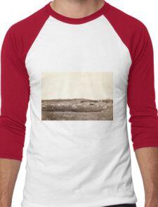 Custer City - John Grabill - 1890 Men's Baseball ¾ T-Shirt