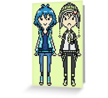 NoiAo Pixel Sprites Greeting Card