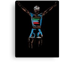 nibali yellow Canvas Print