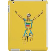 nibali yellow iPad Case/Skin