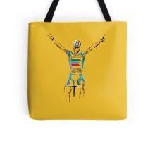 nibali yellow Tote Bag