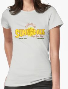 Welcome to Sunnydale Womens Fitted T-Shirt