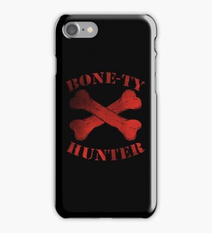 Bone-Ty Hunter iPhone Case/Skin